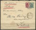 ESTLAND 1895 Estonie Estonia Russie Russland RAKKE To LÜBECK Deutschland - Briefe U. Dokumente