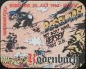 Sous-bock RODENBACH HEKSENSTOET BESELARE 1990 Sorcière Beermat Bierviltje Coaster (C) - Bierdeckel