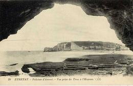 76 ETRETAT - Falaises D'Amont - Vue Prise Du Trou à L'Homme - LL N° 29 - Etretat