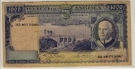 ANGOLA  -  1000  ESCUDOS  1970  -  P.98 - Angola
