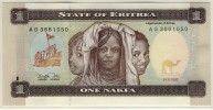 ERYTHREE  -  ERITREA  -  1  NAKFA  1997  -  P.1 - Erythrée