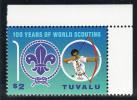 Tuvalu MNH Scott #1045 $2 Shooting Arrow - 100 Years Of World Scouting - Tuvalu