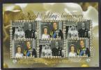 Tuvalu MNH Scott #1027 Sheet Of 6 $1 Queen Elizabeth II And Prince Philip Golden Wedding Anniversary - Tuvalu