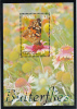 Tuvalu MNH Scott #1024 Souvenir Sheet $3 Painted Lady - Butterflies - Tuvalu