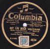 78 Tours - Columbia 4624 - état TB - LAYTON & JOHNTONE - HIT THE DECK - HALLELUJAH - HIT THE DECK - SOMETIMES I´M HAPPY - 78 G - Dischi Per Fonografi