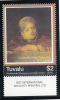 Tuvalu MNH Scott #1020 $2 ´Child With Dead Peacocks´ Detail By Rembrandt - Tuvalu