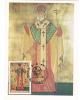 SAINT MARTIR ANTIM IVIREANU, 1993, CM. MAXI CARD, CARTES MAXIMUM, ROMANIA - Cristianesimo