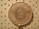 EGYPT  5 Piaestres 1969 50 Th Anniversary Of International Labor Organization - Egypte