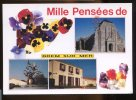 CPM Mille Pensées De BREM SUR MER  Fleurs Pensées - Frankrijk
