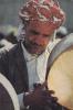 ASIA,ASIE,YEMEN,MADDAH YEMENITE,carte Avec Timbre Et Tampon,marcophile,artiste,chateur,musicien - Yémen