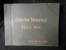 Paris Exposition 1900 .Album  Félix Potin COMPLET De 84 Photos Originales Numérotées De 1 à 84. Voir 13 Scans . - Photographs