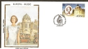 Jersey 1985 EUROPA Music Ivy Helier Actress Sc 354 Colorano Silk Cover # 13248 - Musique