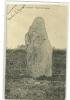 LE GIVRE N10  MENHIR DES JAUNIERES  GROS PLAN - Dolmen & Menhirs