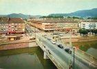 88 - SAINT DIE (Vosges)la Rue Thiers Et La Meuthe( Trés Jolie Carte De 1968 ) - Saint Die