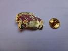 Auto Ferrari    , Dimensions : 20 X 30 Mm , En EGF , Fond Doré , Verso Lisse - Ferrari