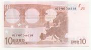 Billet De 10 Euros Neuf   U  Imp  L 052 B 4  Charge 90  UNC - 10 Euro