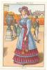 Le Costume à Travers Les âges / Epoque Restauration - 1825 / Chapeau Histoire De France  // IM 39/16 - Trade Cards
