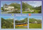 POSTAUTO   ALPENPOST    MALOJA KULM - Buses & Coaches