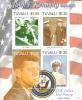 Tuvalu MNH Scott #1007 Sheet Of 4 $1.30 John F Kennedy Joins The Navy 1941-1945 - Tuvalu