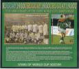Tuvalu MNH Scott #975 Souvenir Sheet $3 Thomas Strunz, Germany - Stars Of World Cup Soccer - Tuvalu