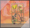 Tuvalu MNH Scott #967 Sheet Of 4 $1 Toadflax, Pomeganate, Black Horehound, Agnus Castus - Medicinal Plants - Tuvalu