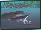 Tuvalu MNH Scott #966 Souvenir Sheet $3 Humpback Whale - Marine Life - Tuvalu