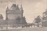 BRUXELLES - Porte De Hal  (trés Animée Caléches Cheveaux Personnages) (lire Description) - Belgique