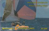 Antigua, ANT- ?, Sailing Week, Ship, Sport , No Control, White Strip, 2 Scans. - Antigua And Barbuda