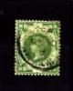 GREAT BRITAIN - 1887   1s.  DULL GREEN   FINE  USED - Usati