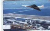 Télécarte Japon  AVION (2) CONCORDE * AIR FRANCE *  AIRPLANE * PHONECARD * JAPAN TELEFONKARTE FLUGZEUG * AIRPORT - Airplanes