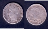 DEMI FRANC CHARLES X 1827 H LA ROCHELLE - G. 50 Centesimi