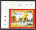 Tuvalu MNH Scott #951 $2 People Seated At Dais - Fight Against HIV And AIDS - Tuvalu