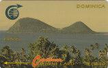 Dominica, DOM- ?, Cabrits, No Control, White Strip, 2 Scans. - Dominica