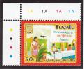 Tuvalu MNH Scott #949 90c Speaker And Dais - Fight Against HIV And AIDS - Tuvalu