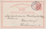 Iceland; Postal Card To Germany 1912 - Island