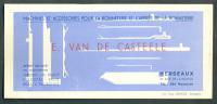 Vloeipapier - Buvard - Bonneterie Van De Casteele Herseaux Mouscron - B