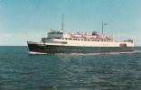 Bateau Boat Brise-Glace - Ice Breaker - Entre Cape Tormentine N.B. & Borden P.E.I. - Non Circulée - 2 Scans - Ships