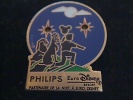 1 PIN´S  DISNEY EURODISNEY PHILIPS PIN'S LUMINEUX CLIGNOTANT PILES HS - Disney