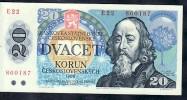 Geldschein  Tschechen 1988  Frisch  (ba3428 ) Siehe Scan - Tschechoslowakei