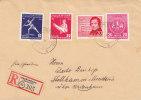 Sports - Ahtlétisme - Musique - Schumann - Allemagne - République Démocratique - Lettre Recommandée De 1956 - Taubenheim - [6] Democratic Republic