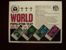 KUT 1974 WORLD POPULATION YEAR  FULL SET (4 Values) With PRESENTATION CARD. - Kenya, Uganda & Tanganyika