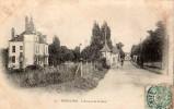 CPA -  313 - BOIS-le-ROI - L'Avenue De La Gare - Bois Le Roi
