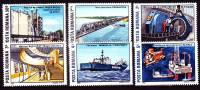 Rumänien 1989 - 4538-43 ** / Michel 2008 - 1948-.... Republics