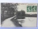 CPA (35) Ille Et Vilaine -  4805 Derval - Château Du Fond Des Bois, Bords De L'Etang, Circulé 1915 - Non Classificati