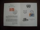 Europa : 2ème Journée Dee L´Europe 05/05/1966 Encart Avec Services Et Europa - Europa-CEPT