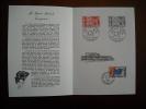 Europa : Xe Anniversaire De La Création Des Timbres Europa 25/05/1965 Encart Avec Services Et Europa - Europa-CEPT