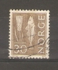 NORWAY - 1962 DEFINITIVES 30 Ore DRAB USED   SG 552 - Norvège