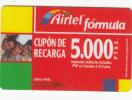 SPAIN - Airtel Prepaid Card 5000 Ptas, Exp.date 31/12/01, Used - Airtel