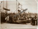 Photo XIX Port Bateau Guerre Militaire Military Boat 1896 MARSEILLE Bouches Du Rhône 13 PACA - Boten