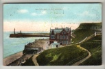 Yorkshire - Whitby, Saloon And Cliff - Postcard - Whitby